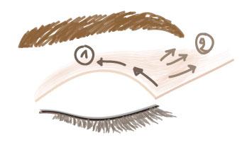 Tuto step-by-step maquillage oeil de biche par LILIDERMA