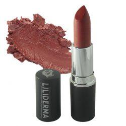 Rouge à lèvres tenue longue durée bordeaux sans paraben à base de cires naturelles non testé sur les animaux fabriqué en France - Coquin - LILIDERMA