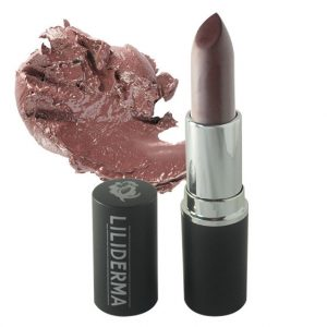 Rouge à lèvres mat tenue longue durée brun sans paraben à base de cires naturelles non testé sur les animaux fabriqué en France - Inoubliable - LILIDERMA