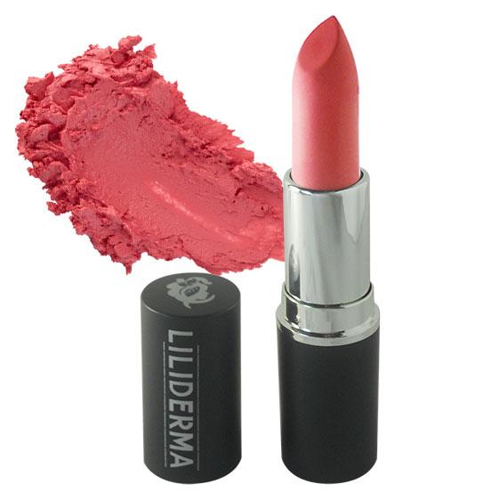 Rouge à lèvres mat tenue longue durée sans paraben à base de cires naturelles non testé sur les animaux fabriqué en France - LILIDERMA