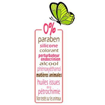 Cosmétiques naturels Liliderma sans paraben, sans perturbateurs endocriniens, non testés sur les animaux, fabriqués en France