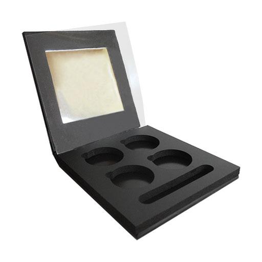 Palette aimantée pour fards à paupières par 4 Palette aimantée pour fards à paupières par 4 rechargeable - Liliderma