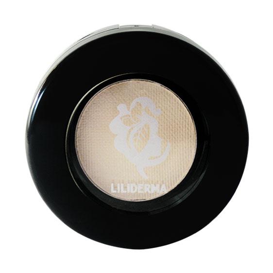 Fard à paupières nacré blanc Perle sans paraben fabriqué en France - Liliderma