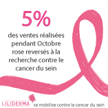 Liliderma - Octobre rose - Cosmétiques naturels fabriqués en France par une esthéticienne