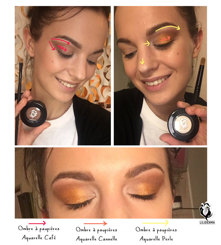 Maquillage de fêtes pour les yeux - Cosmétiques naturels fabriqués en France non testés sur les animaux - LILIDERMA