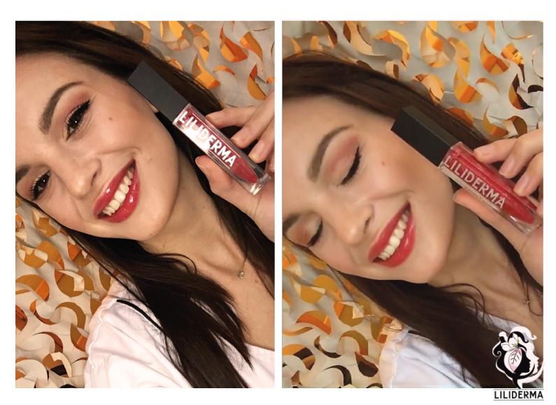 Résultat final - Maquillage de Saint Valentin -LILIDERMA