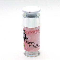 Crème visage jeunesse Temps mieux 30mL - LILIDERMA Cosmétiques naturels sans perturbateurs endocriniens fabriqués en France