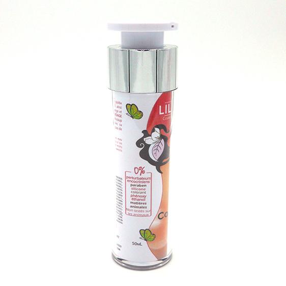 Crème visage vitaminée Couleur Vitamine 50mL - LILIDERMA Cosmétiques naturels sans perturbateurs endocriniens fabriqués en France