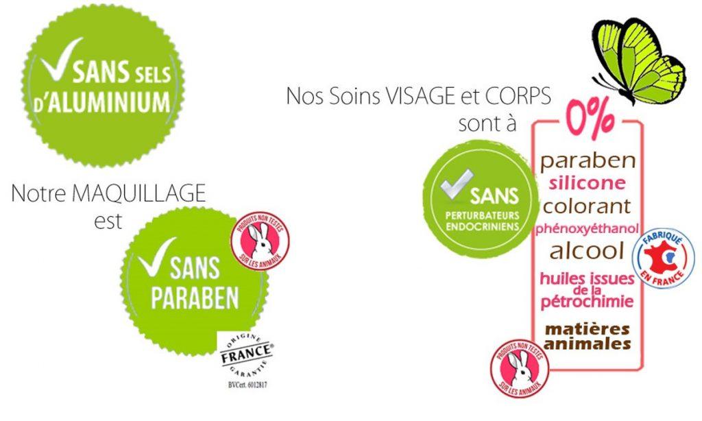 Notre engagement naturel pour la gamme de produits cosmétiques naturels fabriqués en France Liliderma