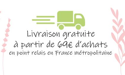 Livraison gratuite - Cosmétiques naturels sans perturbateurs endocriniens fabriqués en France LILIDERMA