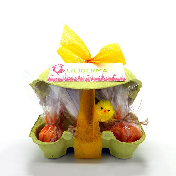 Boîte beauté de Pâques visage LILIDERMA - Cosmétiques naturels sans perturbateurs endocriniens fabriqués en France