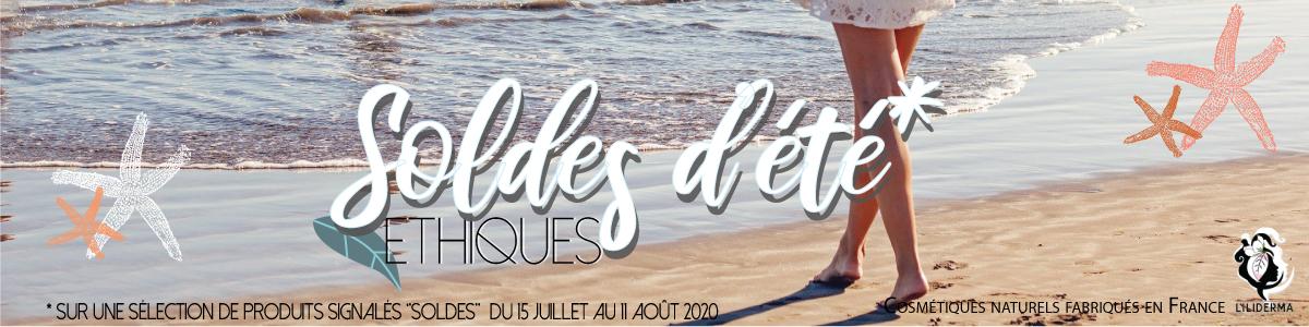 Soldes éthiques cosmétiques naturels sans perturbateurs endocriniens fabriqués en France - LILIDERMA