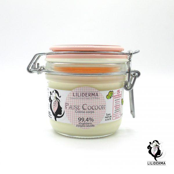 Crème corps Pause Cocoon - Cosmétiques naturels sans perturbateurs endocriniens fabriqués en France - LILIDERMA