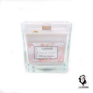 Bougie SPA Fleur de cerisier - Bougies végétales fabriquées en France LILIDERMA