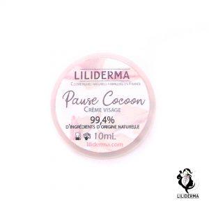 Crème visage Pause Cocoon format voyage - Cosmétiques naturels sans perturbateurs endocriniens LILIDERMA